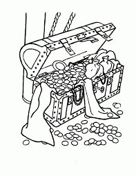 pirate treasure coloring pages coloring