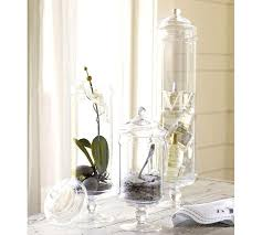 bathroom apothecary jar ideas fanciful apothecary jars bathroom set ideas to decorate with
