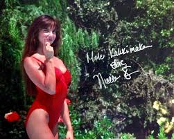 nicolette scorsese autographed signed christmas vacation 8x10