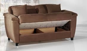 Microfiber Sleeper Sofa Beautiful Microfiber Sleeper Sofa Aspen Rainbow Storage Sleeper