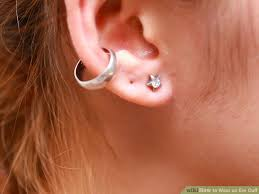 cuff piercing how to wear an ear cuff 15 steps with pictures wikihow