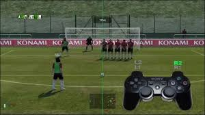 pes 2011 free kick penalty tutorial