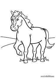 coloring page pony pony coloring pages hellokids