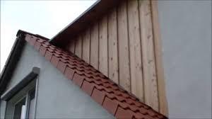 Wie Ein Haus Kaufen Wie Verkleide Ich Eine Haus Giebelseite Mit Holz Aus Sibirischer