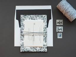 diy rubber stamp floral wedding invitations
