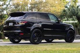 range rover svr black range rover svr adv7 m v1 cs concave forged wheels adv 1 wheels