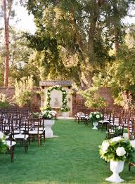 outdoor wedding venues san diego marston house garden wedding san diego events