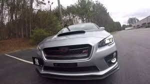 subaru sti 2016 white 2016 subaru wrx sti exterior review mods stizar walk around youtube