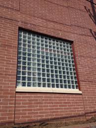 fire resistant glass block