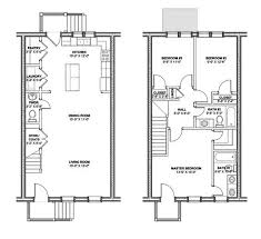 Federal Style House Plans Row Home Floor Plans 50 Best Row And Town Homes And Plans Images