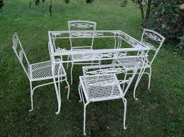 Vintage Woodard Wrought Iron Patio Furniture - salterini garden furniture and ornaments plain u0026 elegant antiques
