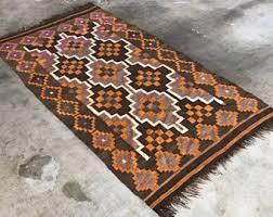 Rug Kilim Flat Weave Rug Etsy