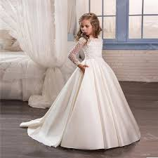 communion dresses for ivory lace flower girl communion dresses floor length pageant