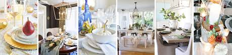 Top 10 Favorite Blogger Home Tours Bless Er House So A Rustic Elegant Thanksgiving Zdesign At Home