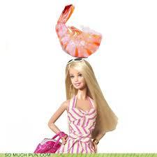 Barbie Meme - shrimp on the barbie puns pun pictures
