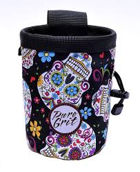 Day Of The Dead Bedding Amazon Com Pure Grit Day Of The Dead Sugar Skull Chalk Bag Made
