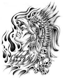 aztek inka maya dövme dövmesi dövmeleri tattoo desenleri aztec
