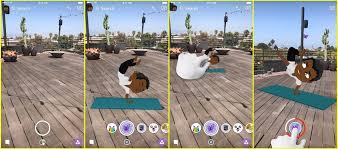 how do i use snapchat u0027s 3d bitmoji popsugar australia tech