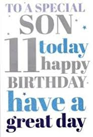 to a special on your 11th birthday card 7327cg co uk