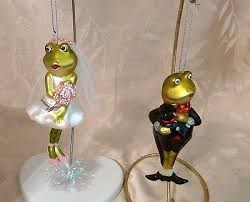 frog and groom tree ornament what s it worth