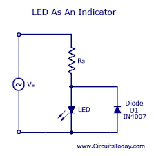 light emitting diode led working circuit symbol characteristics