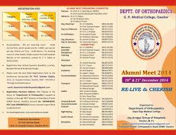 Invitation Cards For Alumni Meet Alumni Meet 2014 Gajra Raja Medical College Gwalior