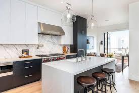 black lower kitchen cabinets white 30 black and white kitchen design ideas designing idea