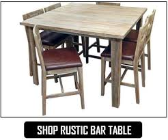 Rustic Bar Table Rustic Dining Room Furniture Savvy Discount Furniture Serving