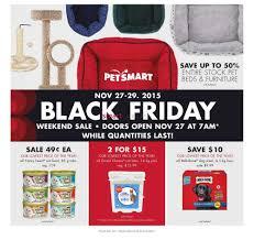 pet smart black friday petsmart black friday flyer november 27 to 29