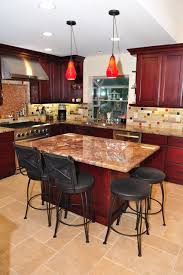 kitchen island cherry wood maroon kitchen island quicua