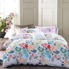 floral duvet covers tropical leaf print bedding sets queen cotton