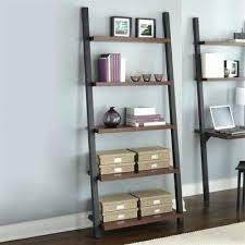 ikea leaning bookcase black ladder shelf ikea leaning bookshelf