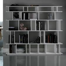 loft design partition bookcase by cattelan arredaclick