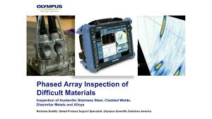 phased array inspection of difficult materials youtube
