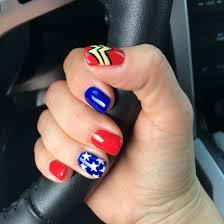 Wonder Woman Makeup For Halloween by Wonder Woman Nails U2026 Pinteres U2026