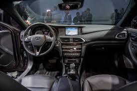 infiniti qx30 interior 2017 infiniti qx30 first impressions news cars com