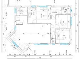 plan villa plain pied 4 chambres plan maison plain pied 3 chambres 110m2