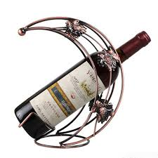 aliexpress com buy 2017 decorative wine rack iron craft home