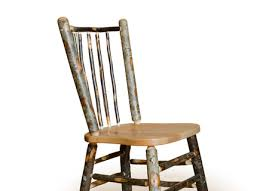 Vine Chair Amish Built Rustic Lodge Hickory Stick Dining Chair Bar Hastac 2011