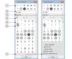 corel draw x6 keyboard shortcuts pdf inserting special characters symbols and glyphs