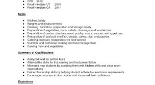 resume sample cook position electrical supervisor resume sample