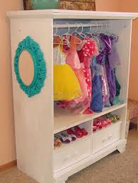 Dress Up Cabinet From An Entertainment Center Kids Bedroom
