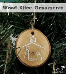 diy wood slice ornaments diy wood handmade and