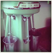 1950 u0027s milkshake machine things i love some retro and vintage
