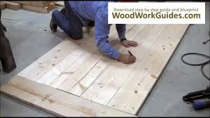 easy to make dining room table youtube