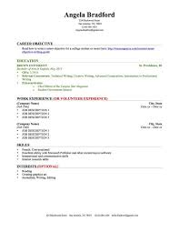 Sample Objective For Teacher Resume by Download Resumes For College Students Haadyaooverbayresort Com