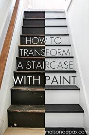 How To Install A Banister How To Paint Stairs The Easy Way Paint Stairs Diy Tutorial And