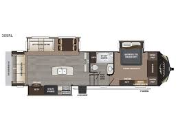 Keystone Rv Floor Plans New 2018 Keystone Rv Montana High Country 345rl Fifth Wheel At