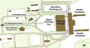 tulsa airport map airport parking maps for springfield st louis syracuse ta tulsa
