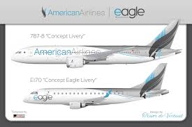 american airlines livery concept da c